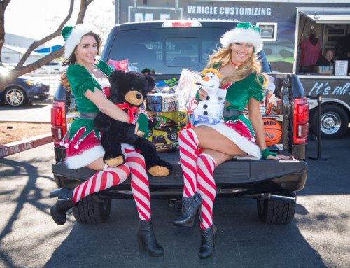 Gaudin Ford hosts holiday car show benefitting toys for tots